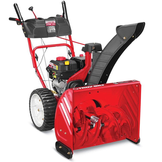 What is a three-stage snow blower?