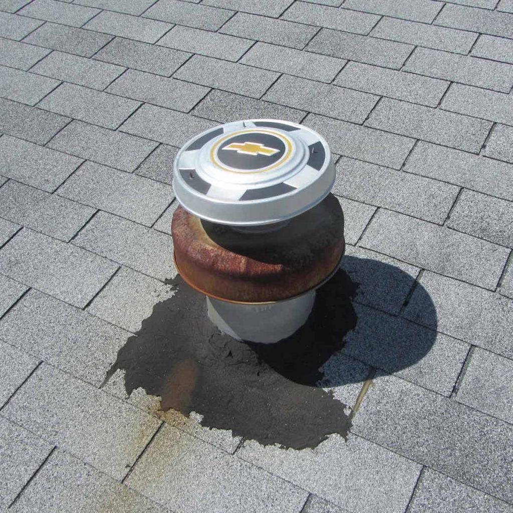 Eric-Korpon_Drove-My-Chevy hubcap flue cap