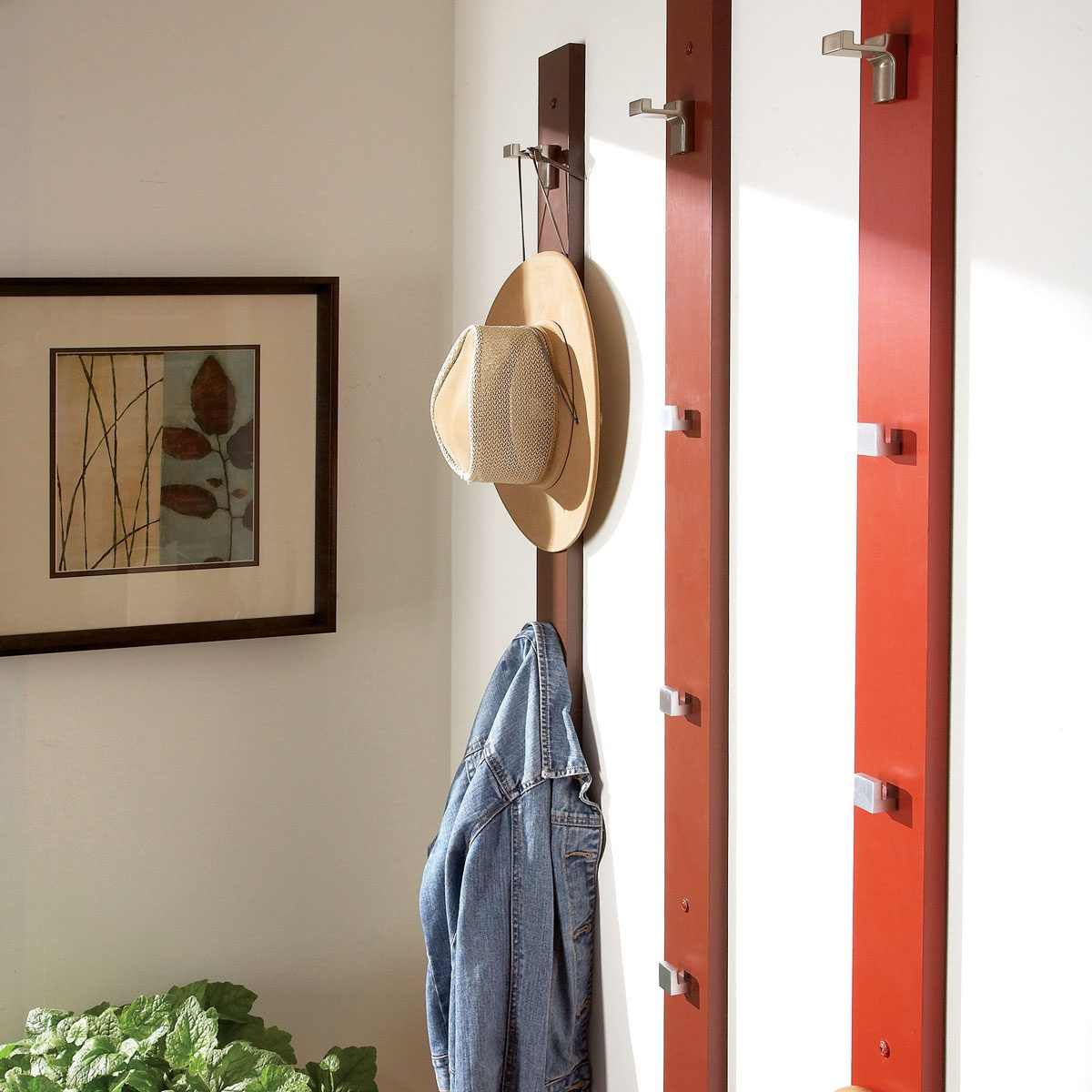 2. Wall Surface Mount Coat Racks