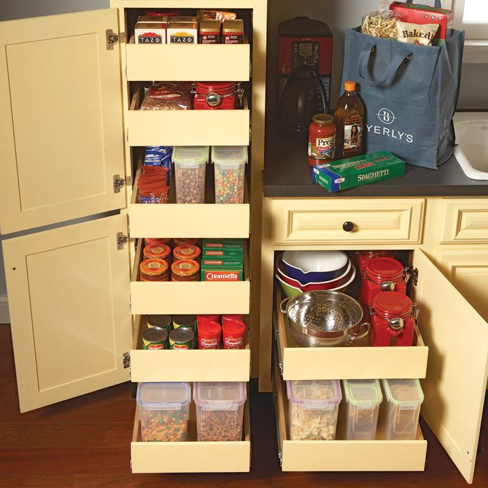 Install a Kitchen Cabinet Rollout