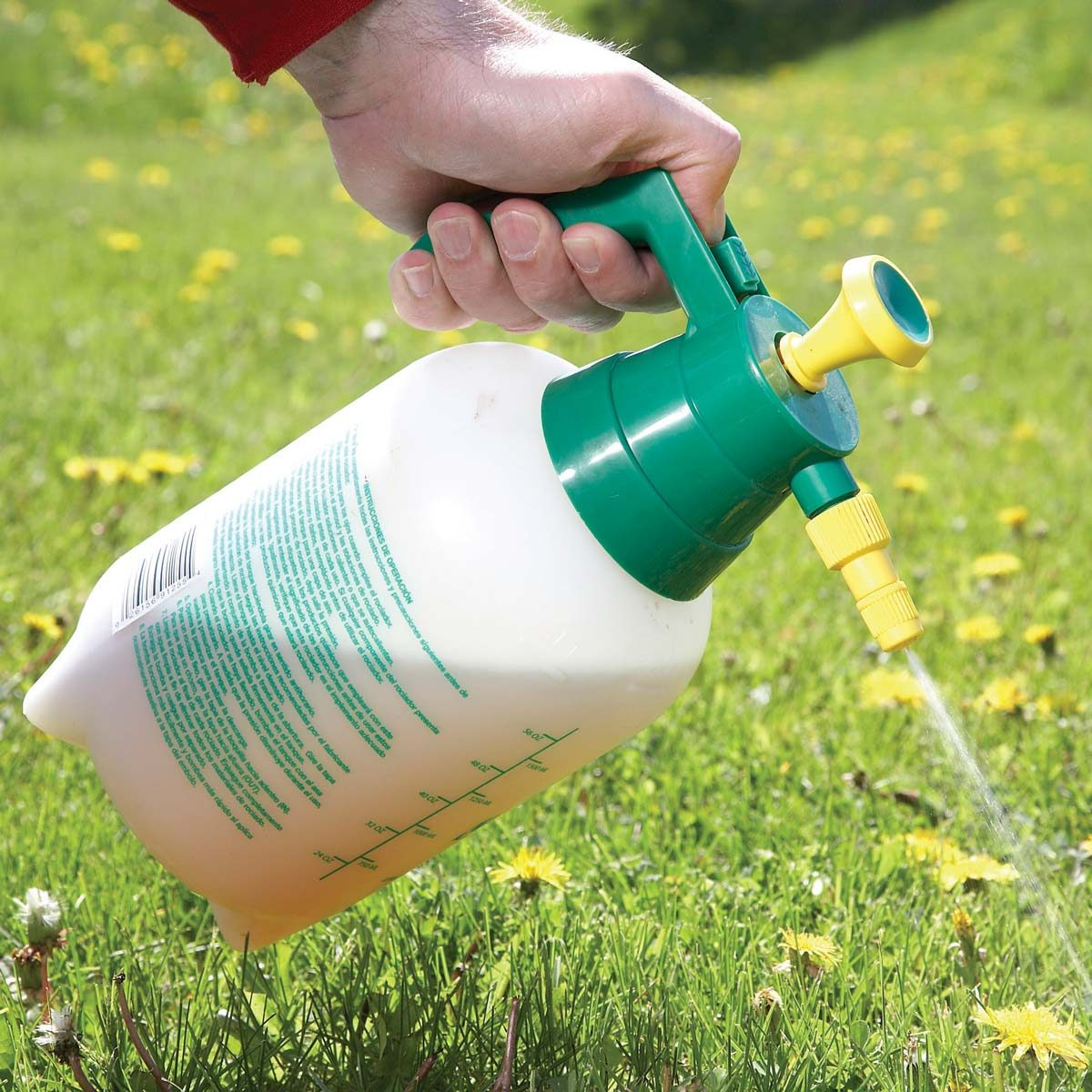 Spray for Weeds