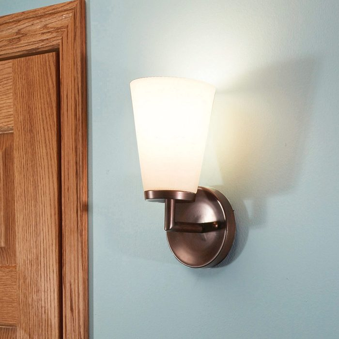 Add a Wall Sconce for Kitchen Lighting
