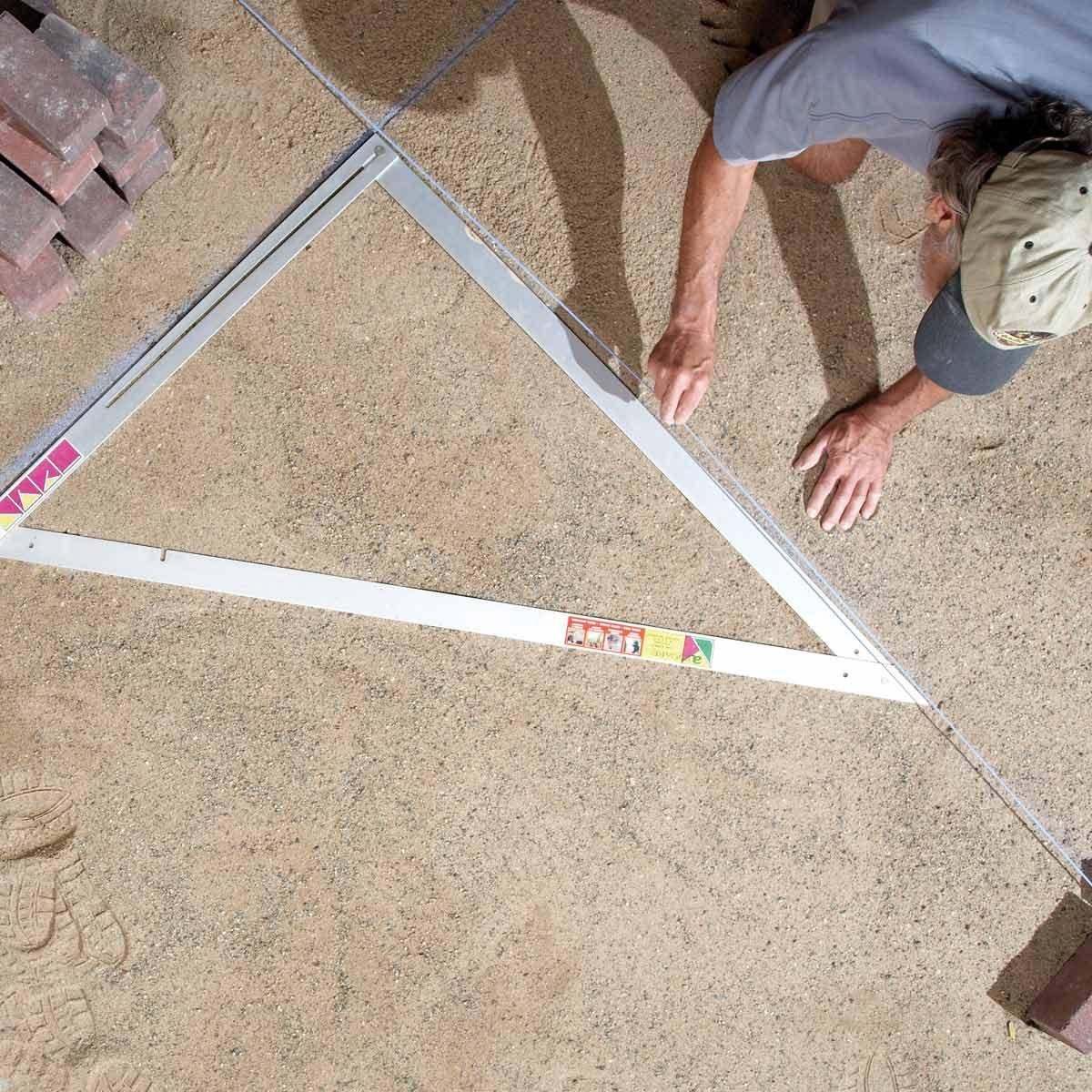 Time-saving triangle