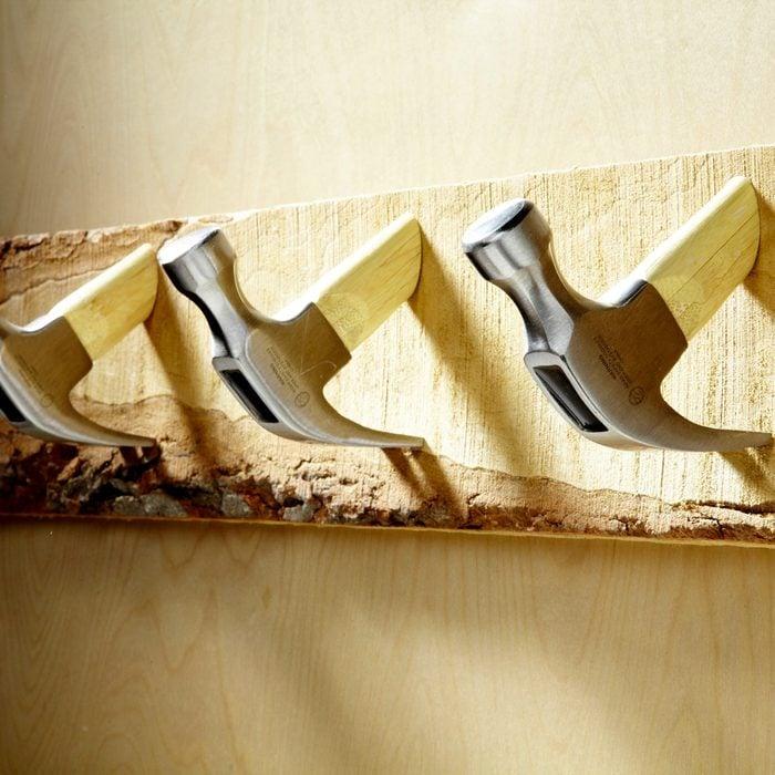 Upcycled Tool & Hardware Hooks