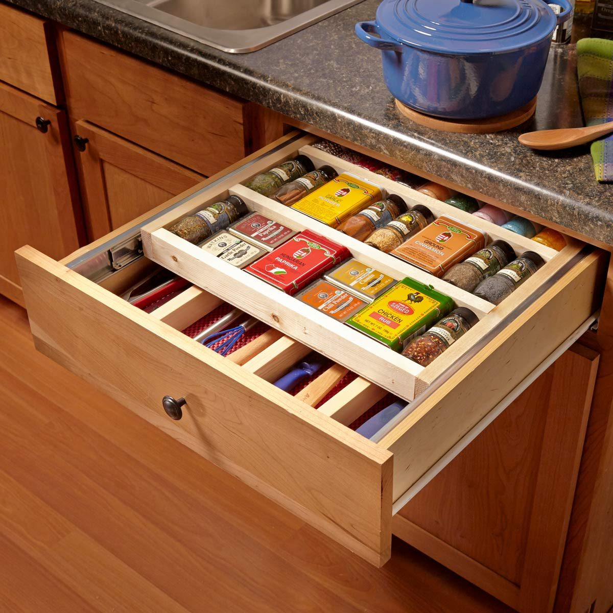 Two Tier Spice Drawer