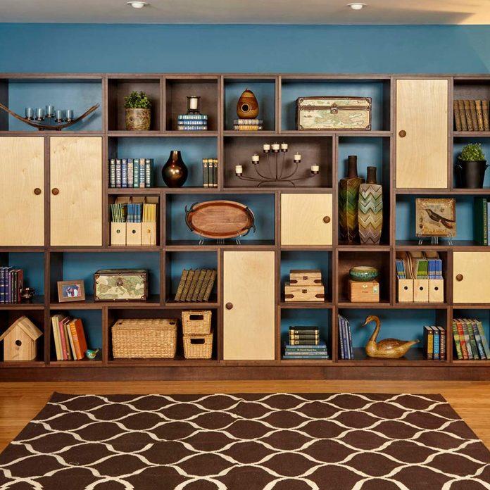 Use Bookshelves as Art