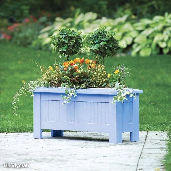 diy 3 season planter backyard