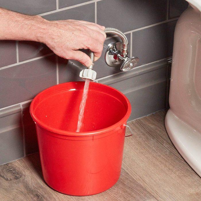 Flush out the sediment