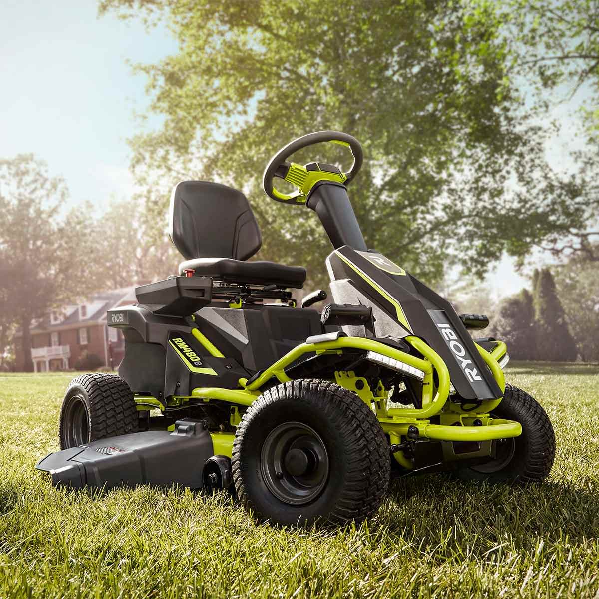 ryobi rm480e riding lawnmower — the family handyman