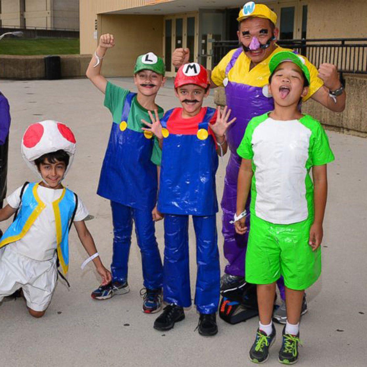 Yoshi Halloween Costume Diy.15 Fantastic Diy Duct Tape Halloween Costumes Family Handyman