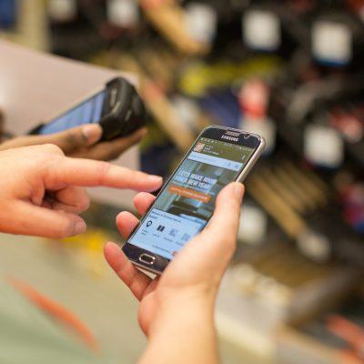 Smart phone Home Depot App