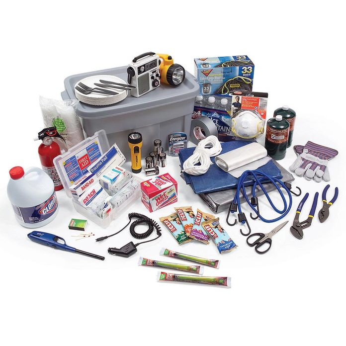 Stock the Shelter with Emergency Supplies