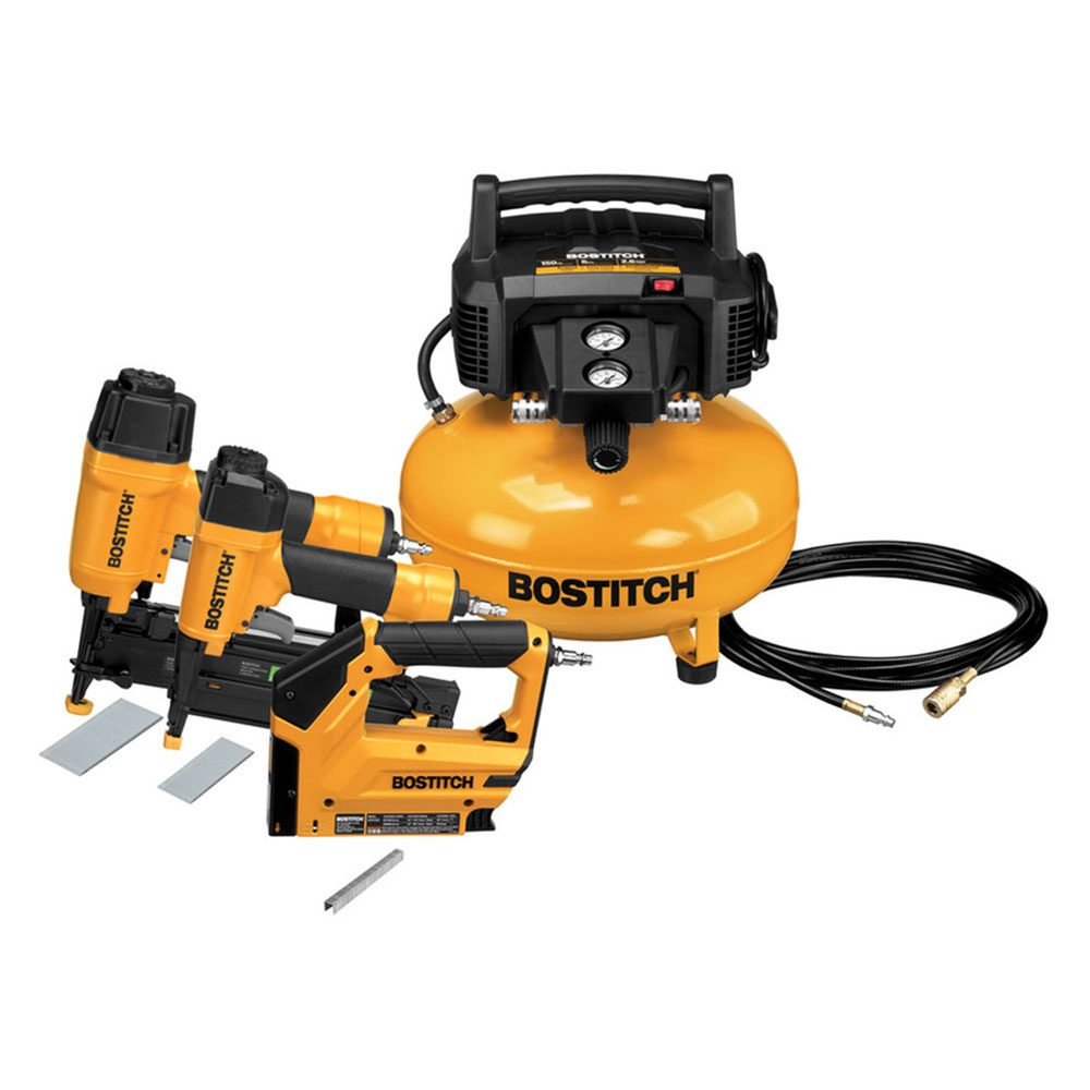 Bostitch Compressor and Nailers