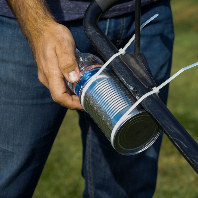 Tin Can Water Bottle Holder