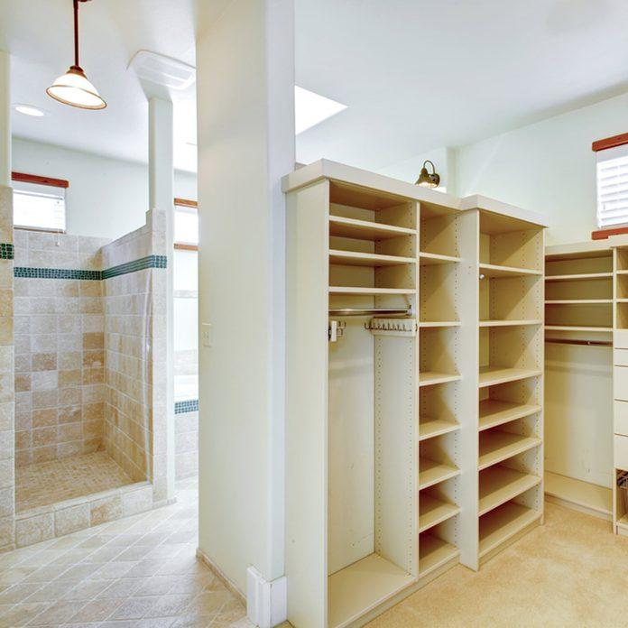 Closet-Bathroom Combo