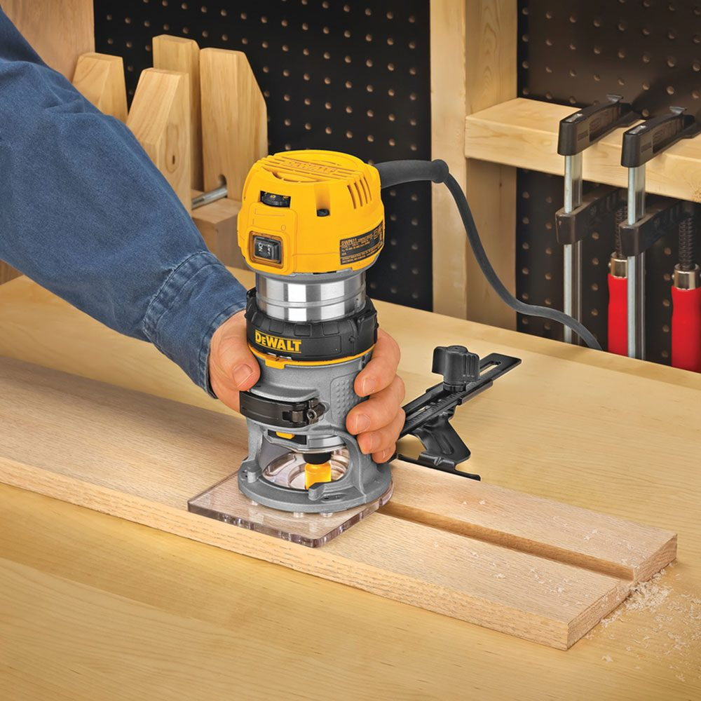 Dewalt 1.25 HP trim router