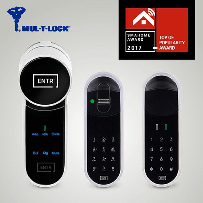 ENTR from Mul-T-Lock Adds Fingerprint Access