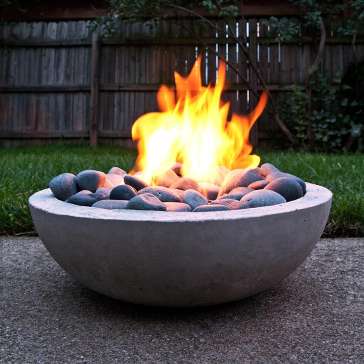 Cool Fire Pit Ideas: Bowl of Fire