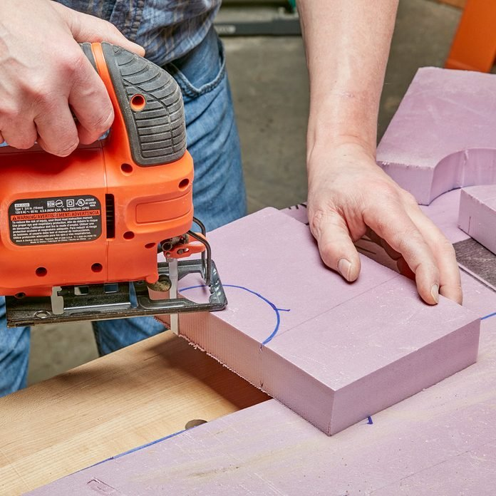 Cutting through fame with a de-toothed blade | Construction Pro Tips