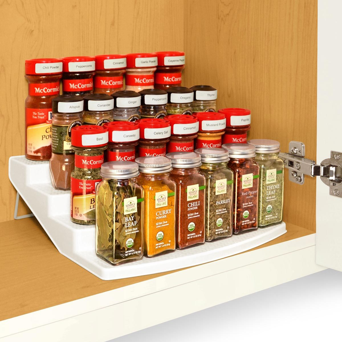 Four-Tier Spice Rack Organizer
