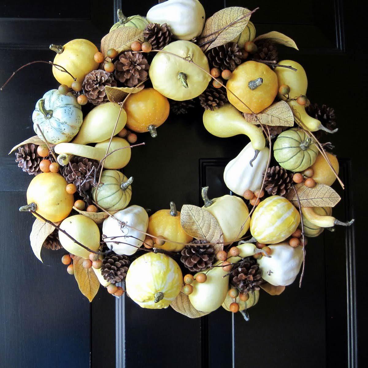 Gourd Wreath