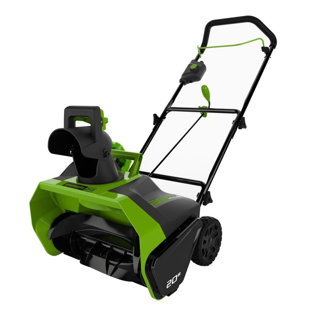 Greenworks Cordless Electric Snow Blower