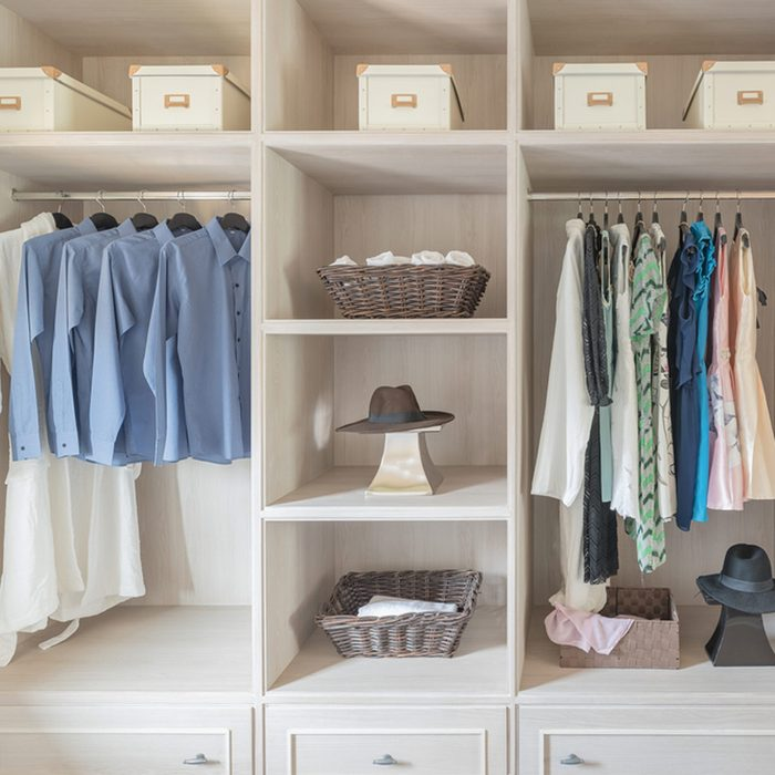 His and Her Closet