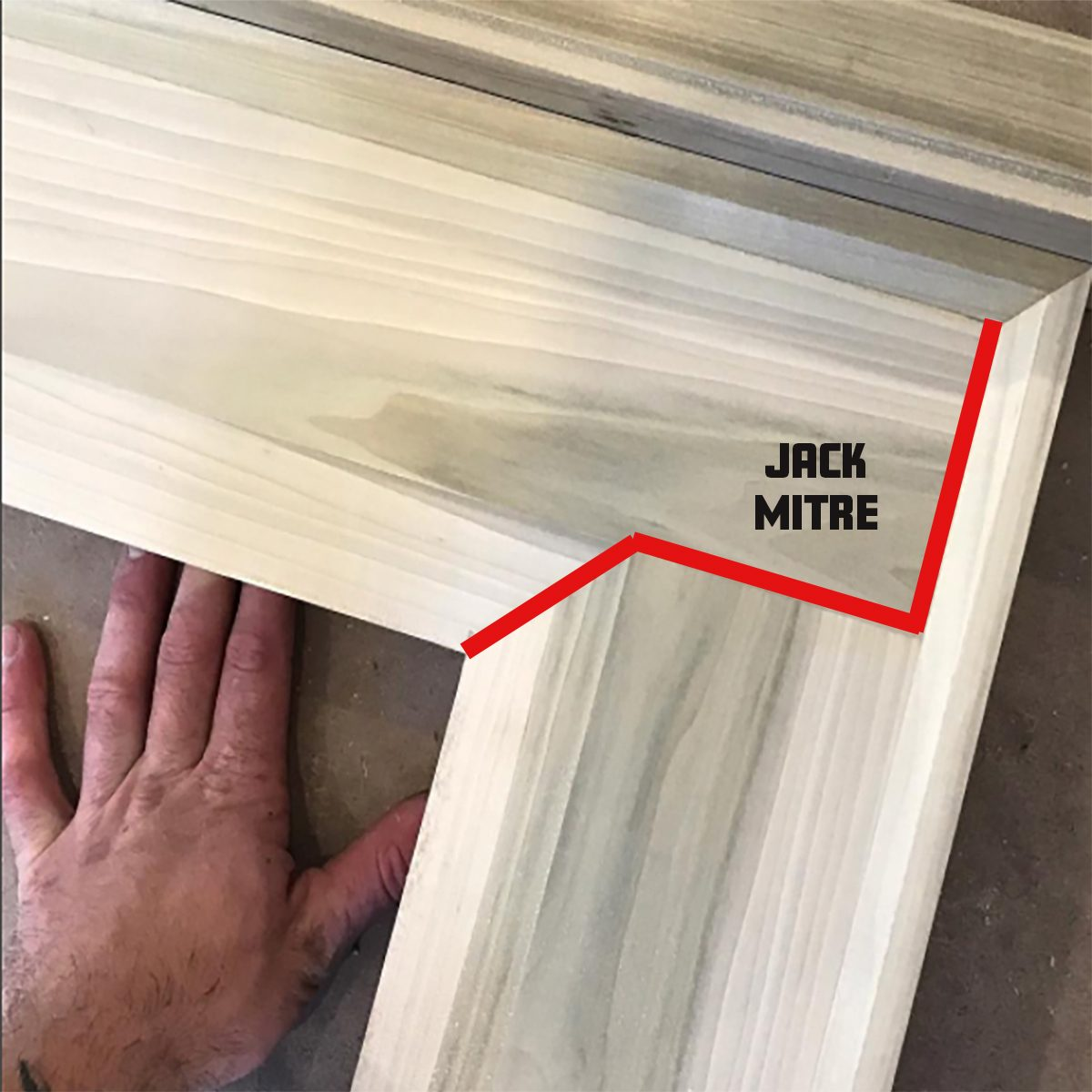 A Jack Miter | Construction Pro Tips