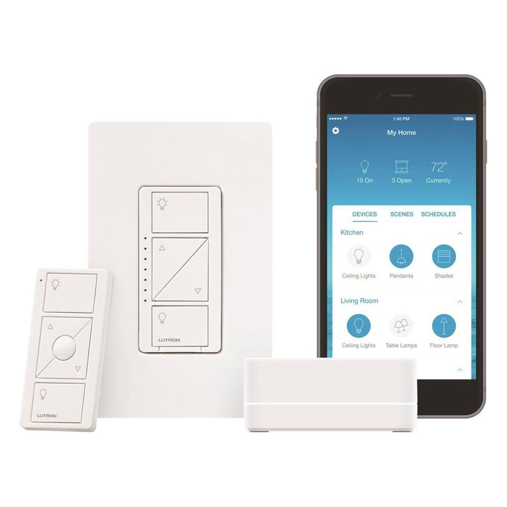 Lutron Caseta Wireless Lighting Kit