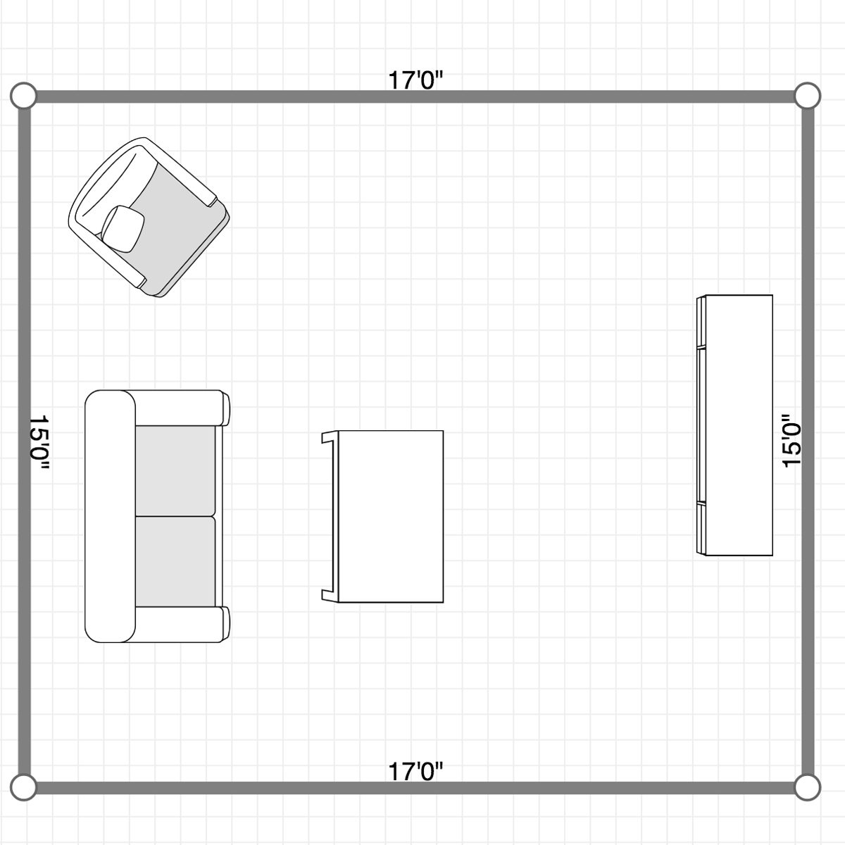 Measure Furniture to see if it'll fit in new Place
