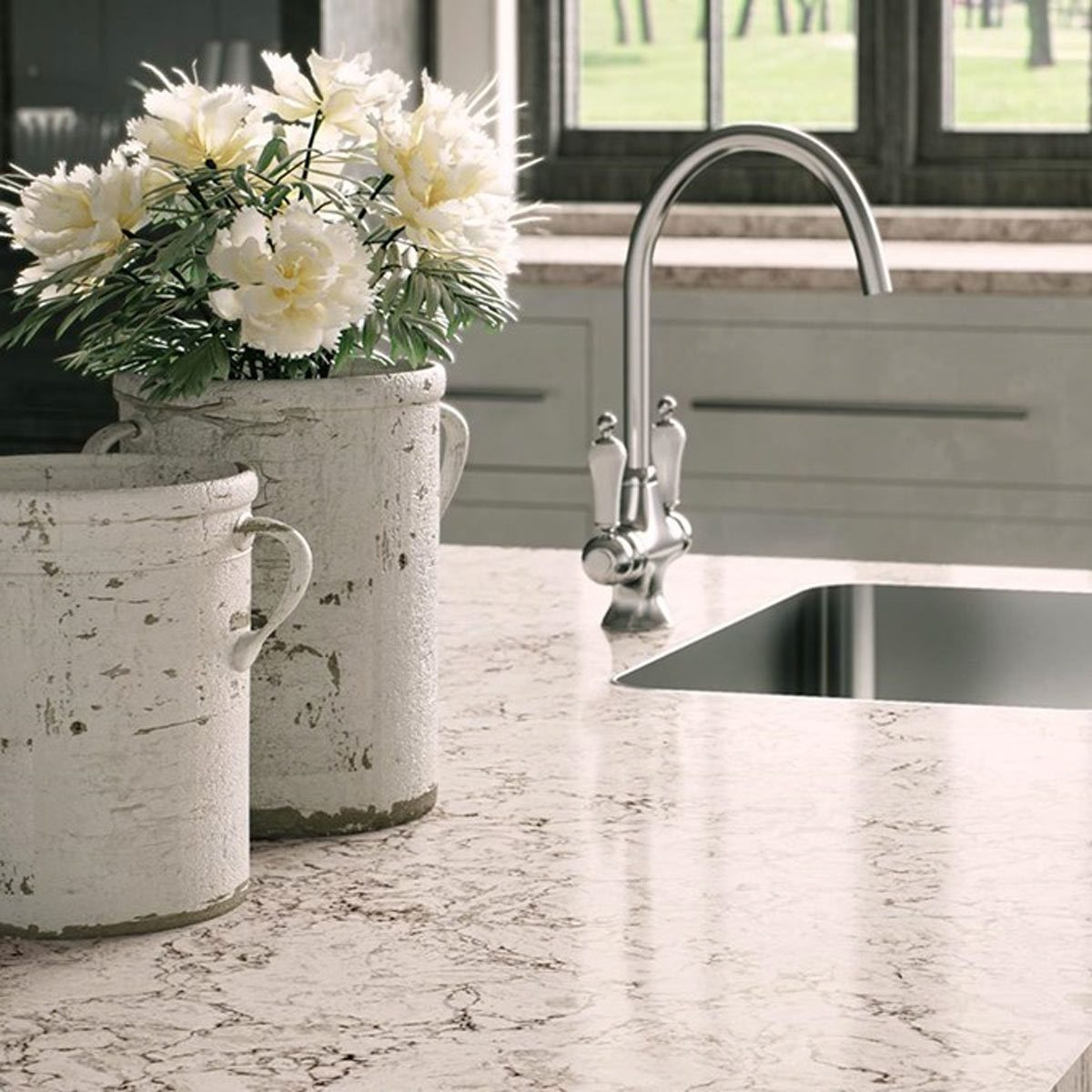 13 awesome countertops that aren 39 t granite family handyman for Are all quartz countertops the same