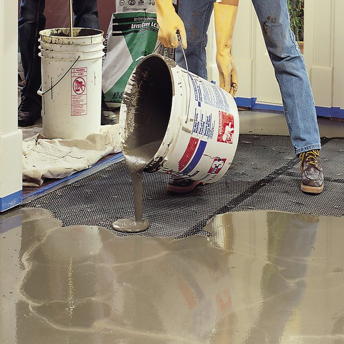 Self Leveling Underlayment