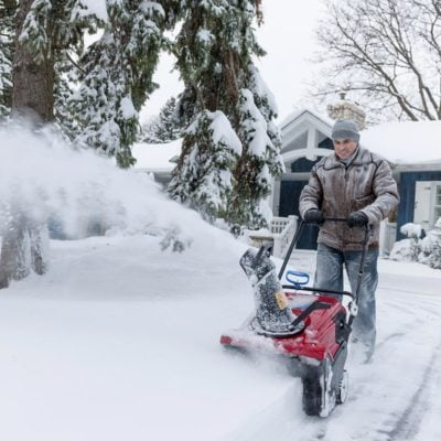 shutterstock_176056256 snow blower snow blowing drive way snow storm the things you do