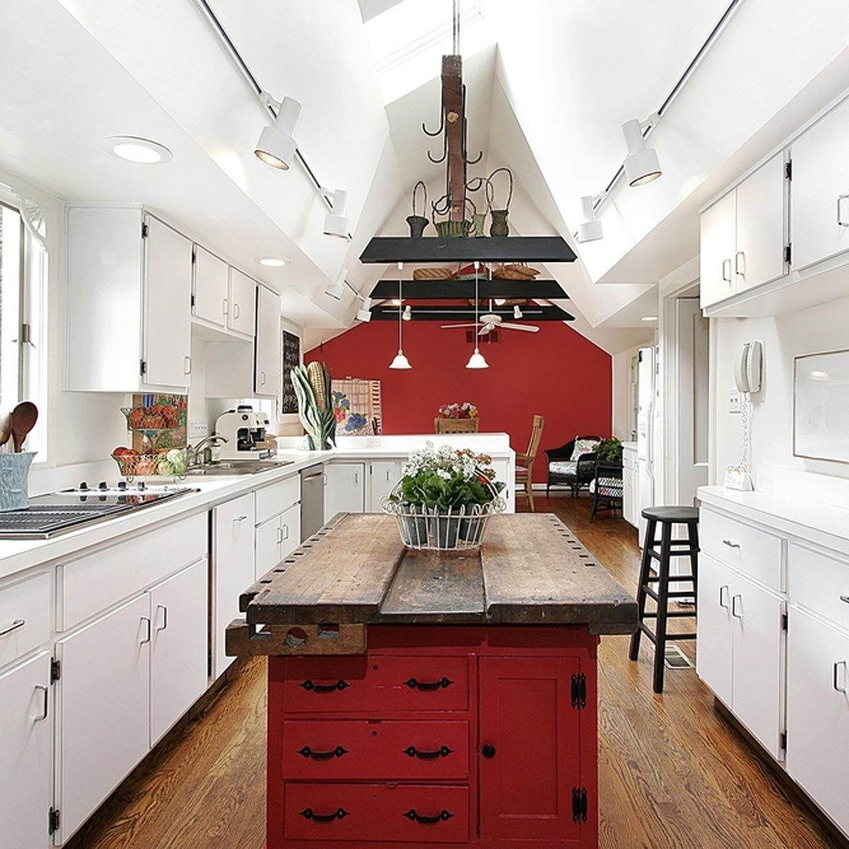 Inspiring Country Kitchen Paint Colors To Get Inspirations: 12 Inspiring Kitchen Island Ideas