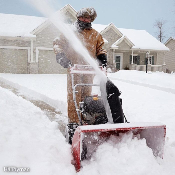 Smart Snow Blowing