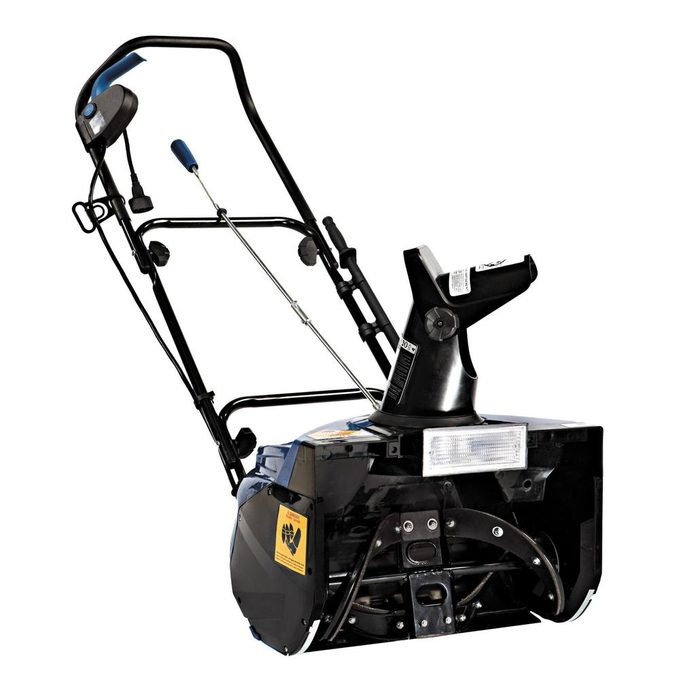 Electric snow blowers work great for small areas