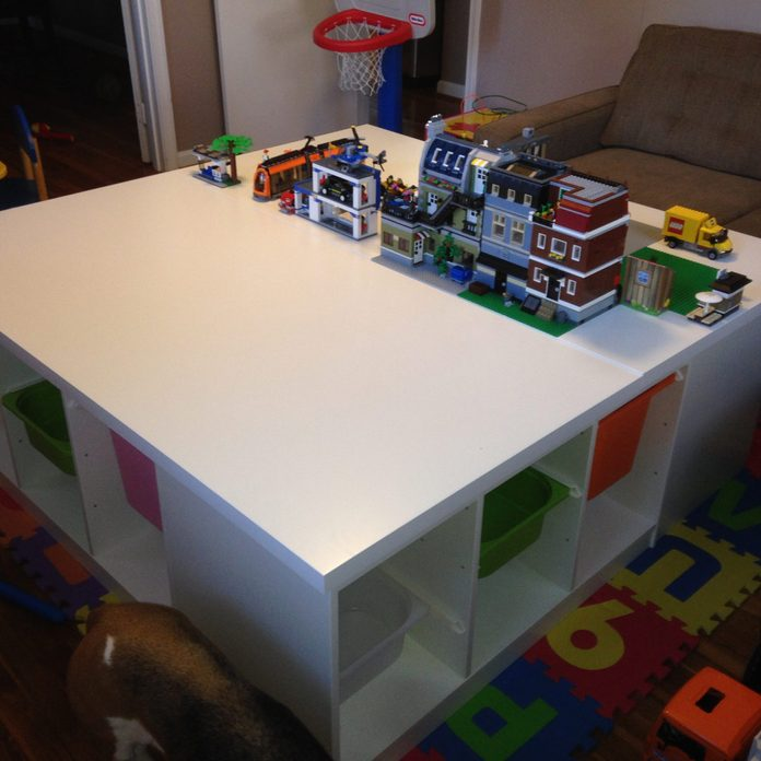 Coffee-LEGO Table Duo