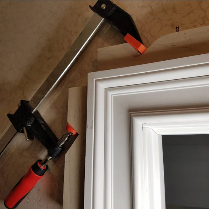 Homemade trim clamps | Construction Pro Tips