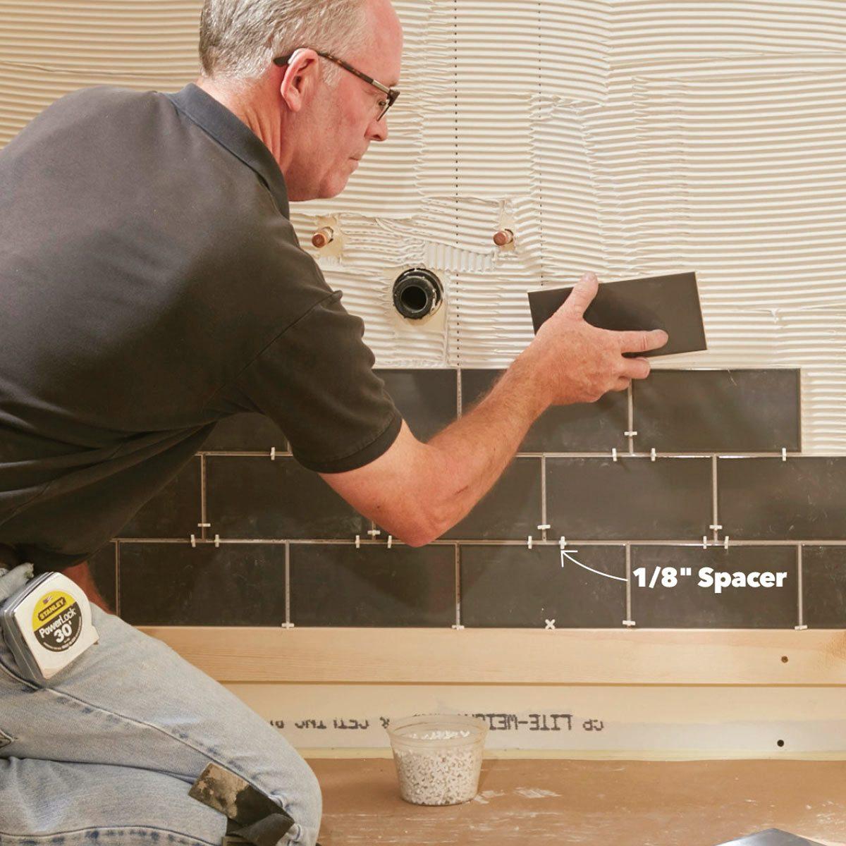 Master The Art Of Subway Tile The Family Handyman