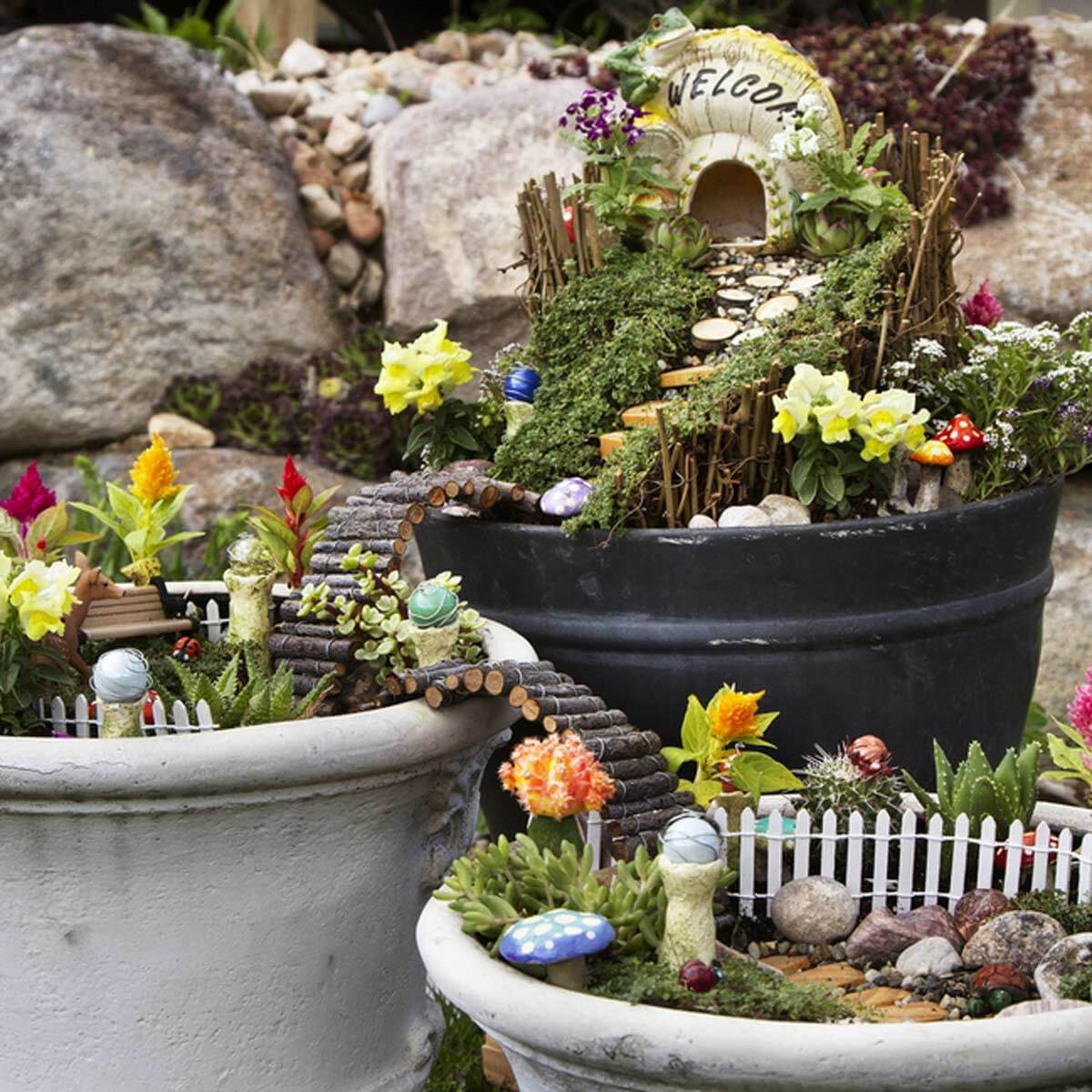 15 Breathtaking Diy Fairy Gardens The Family Handyman
