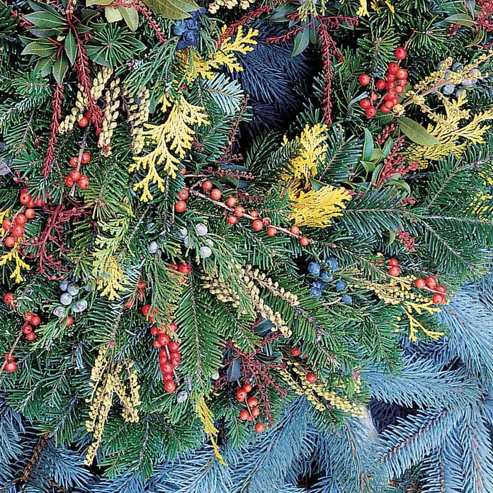 BL10470C33C holiday wreath layers