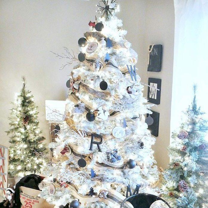 Woodland Black and White Christmas