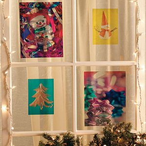 Inexpensive DIY Photo Holiday Project