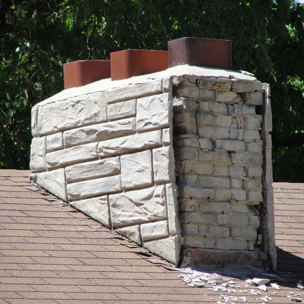 Chimney-with-facade-falling-apart