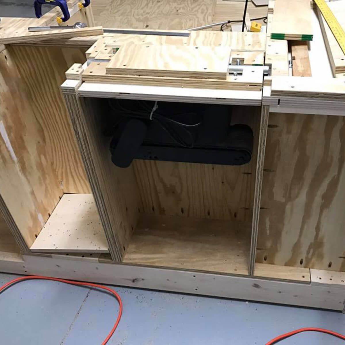 workbench cabinet