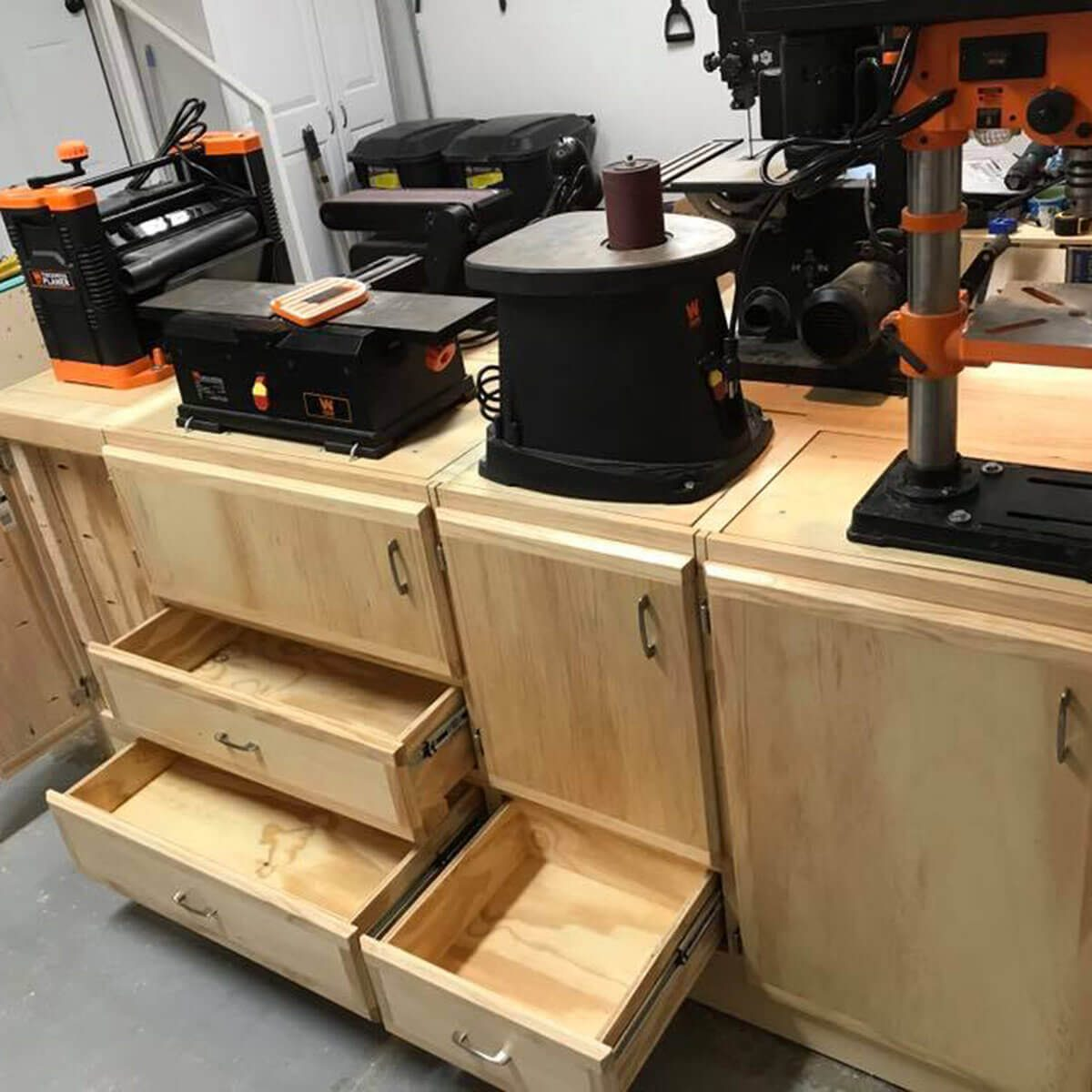workbench storage