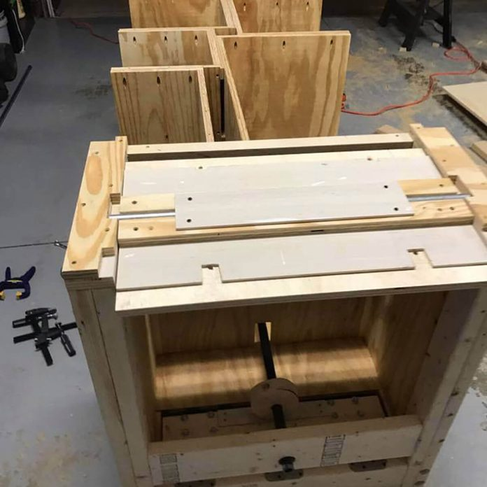 workbench cabinet construction