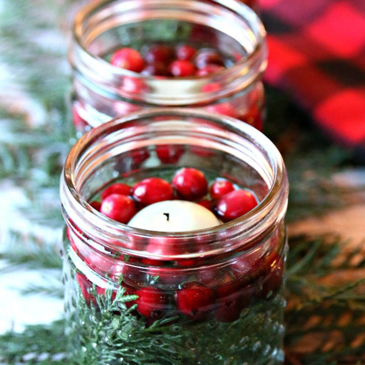 Cranberry Luminaries
