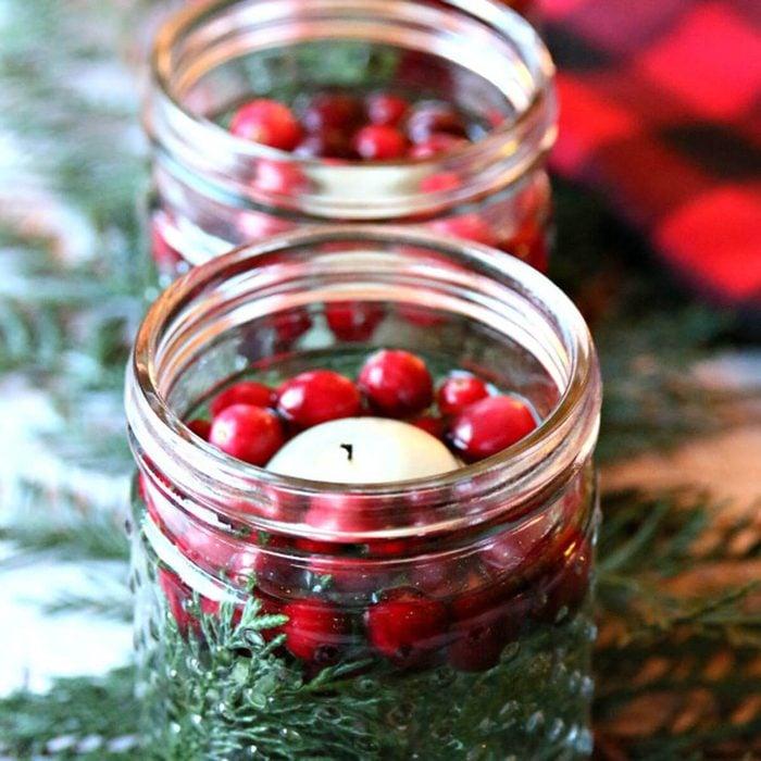 Cranberry Luminaries