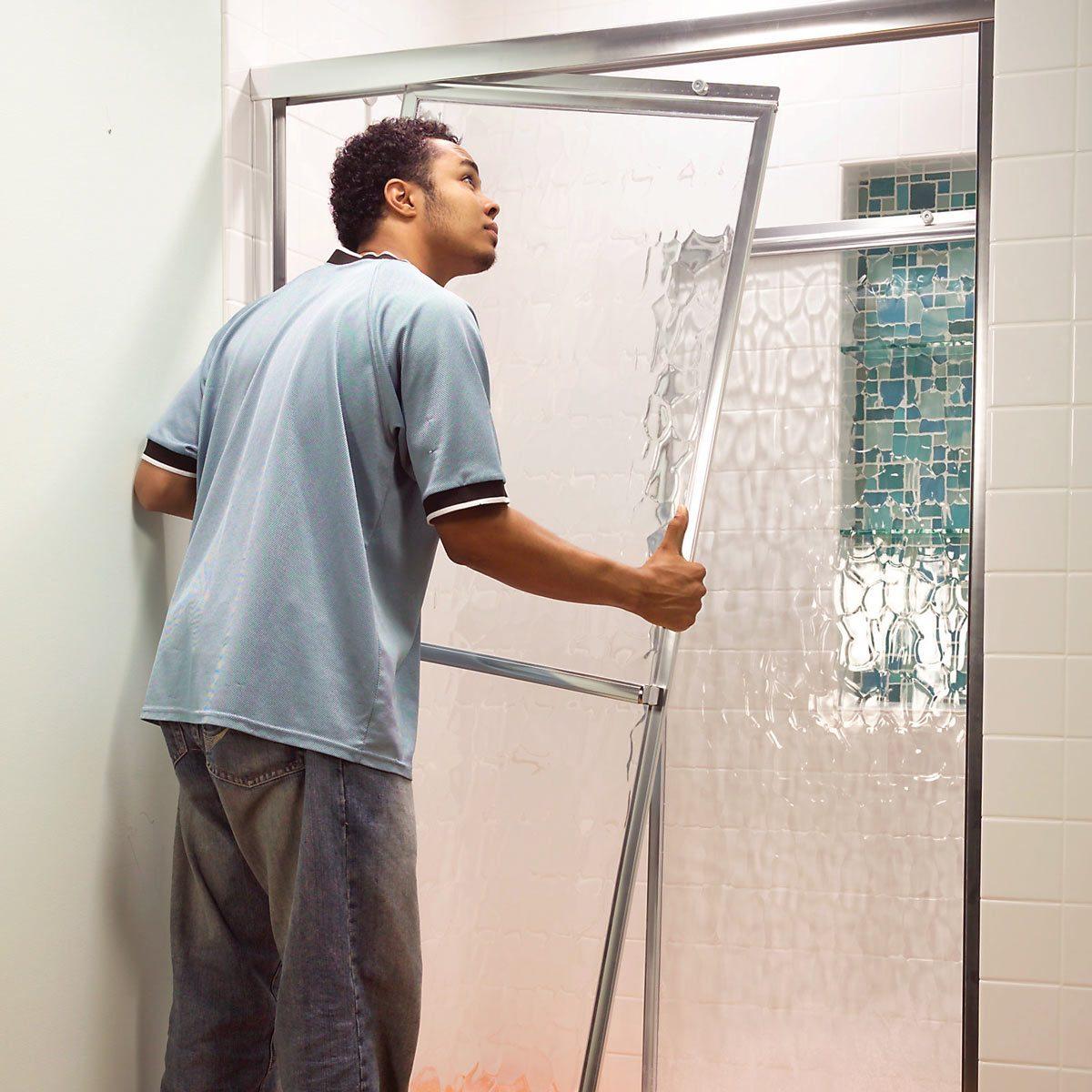 How to Adjust Sliding Shower Doors